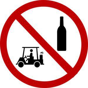 no-golf-cart-drinking