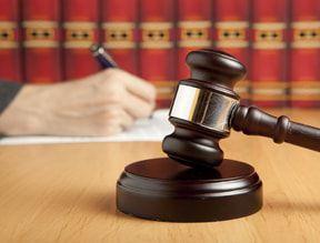 Gavel on Arkansas Judge's Desk
