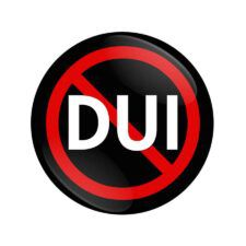 no DUI sign