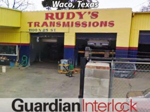 Waco Texas Ignition Interlock Installer's Rudy's Transmission