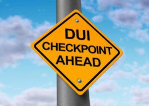 DUI-checkpoint-sign